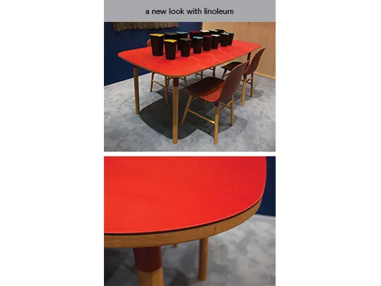 A new look in linoleum - Normann Copenhagen